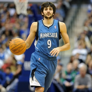 Minnesota Timberwolves point guard Ricky Rubio