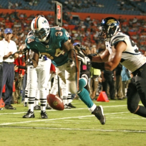 Miami Dolphins Running Back Ricky Williams.