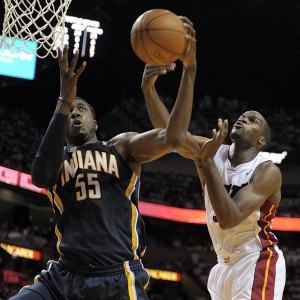 Indiana Pacers' Roy Hibbert