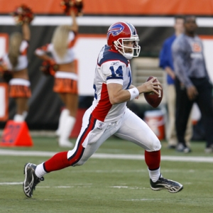 The Bills' quarterback Ryan Fitzpatrick