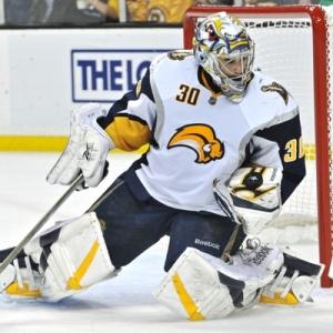 Boston Bruins Goalie Ryan Miller