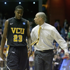 Head Coach Shaka Smart of the VCU Rams