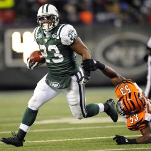 New York Jets running back Shonn Greene.