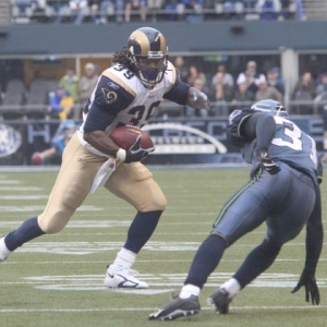St. Louis Rams Running Back Stephen Jackson.