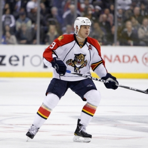 Florida Panthers center Stephen Weiss