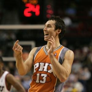 Steve Nash of the Phoenix Suns.