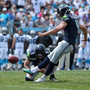 Seattle Seahawks Place Kicker Steven Hauschka