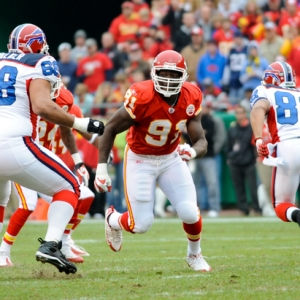Kansas City Chiefs defensive end Tamba Hali.