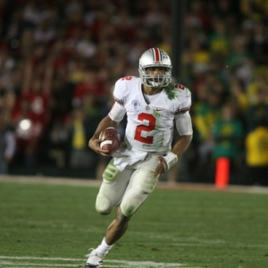 Terrelle Pryor of the Ohio State Buckeyes.
