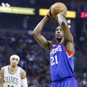 Philadelphia 76ers small forward Thaddeus Young