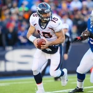 Denver Broncos QB Tim Tebow