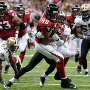Atlanta Falcons tight end Tony Gonzalez