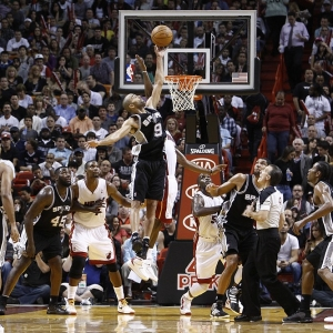 San Antonio Spurs point guard Tony Parker