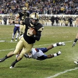 Army Black Knights quarterback Trent Steelman