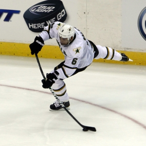 Trevor Daley of the Dallas Stars