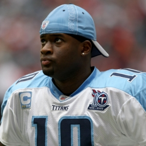 Quarterback Vince Young of the Tennessee Titans.