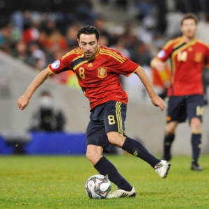 Xavi of Spain