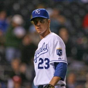 Zack Greinke, Royals pitcher.