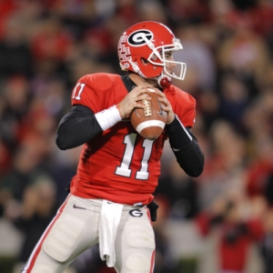 Georgia Bulldogs quarterback Aaron Murray