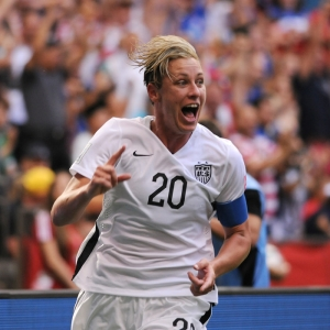 Abby Wambach of Team USA soccer