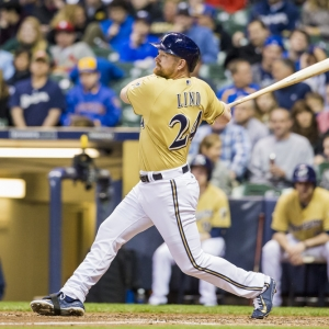 Adam Lind Milwaukee Brewers