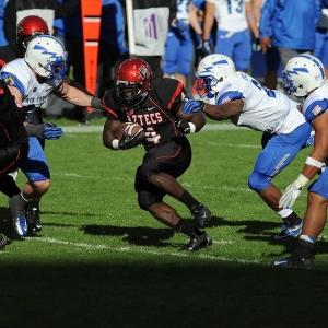 San Diego State Aztecs RB #4 Adam Muema