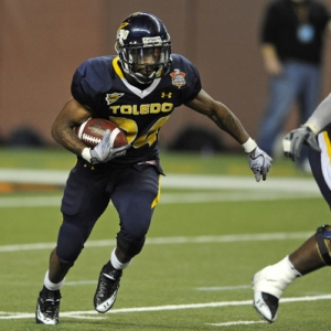 Toledo running back Adonis Thomas
