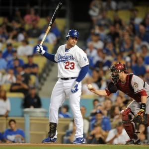 Adrian Gonzalez of the LA Dodgers