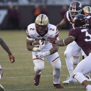 A.J. Dillon of the Boston College Eagles