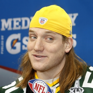 AJ Hawk of the Green Bay Packers