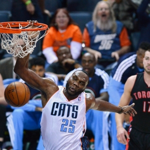 Charlotte Bobcats center Al Jefferson