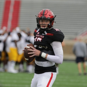 Texas Tech Red Raiders Fresman Quarterback Alan Bowman