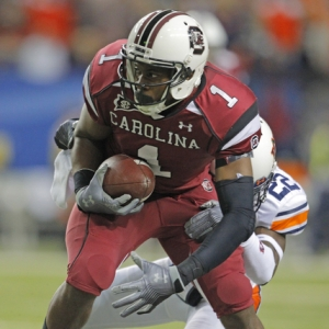 South Carolina Gamecocks wide receiver Alshon Jeffery