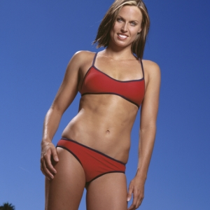 USA swimmer and Olympic gold medalist Amanda Beard
