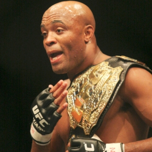 Anderson Silva of UFC.