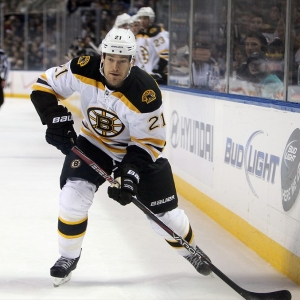 Boston Bruins defenseman Andrew Ference