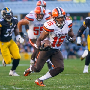 Cleveland Browns wide receiver Andrew Hawkins