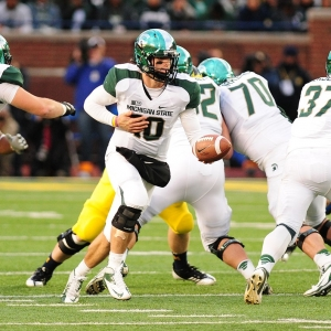 Michigan State University quarterback Andrew Maxwell