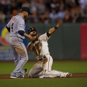 The San Francisco Giants' Angel Pagan