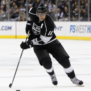 Anze Kopitar of the Los Angeles Kings