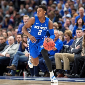 Kentucky Wildcats guard Ashton Hagans