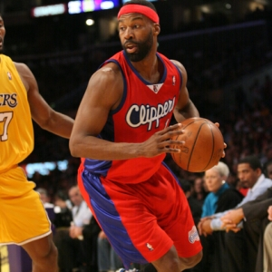 Baron Davis of the Los Angeles Clippers
