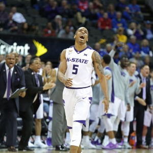 Kansas State Wildcats guard Barry Brown