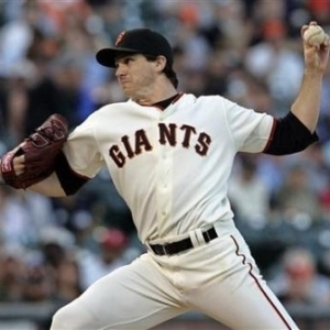 Barry Zito pitching