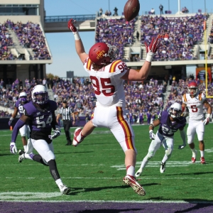 Iowa State Cyclones tight end Ben Boesen
