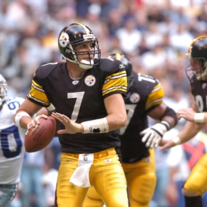 Pittsburgh QB Ben Rothlisberger.
