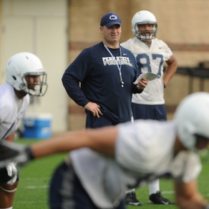 Penn State head football coach Bill O'Brien