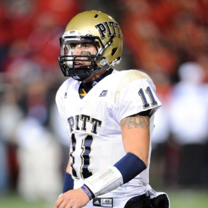 Bill Stull, quarterback for the University of Pittsburgh.