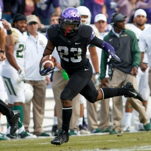 TCU Horned Frogs running back B.J. Catalon