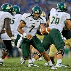 South Florida Bulls quarterback BJ Daniels